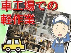 軽作業(自動車工場の設備清掃/週1日勤務/車通勤/7時-16時)