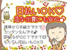 軽作業(買い物気分でOK/シフト希望制、週3日~、全額日・週払い)